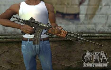 Galil v2 pour GTA San Andreas troisième écran