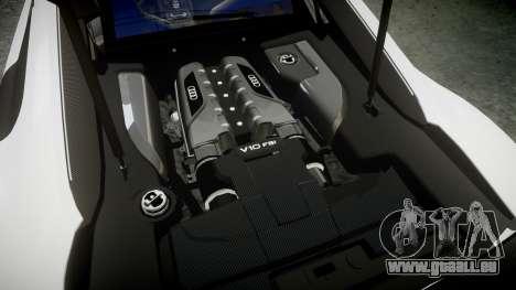 Audi R8 LMX 2015 [EPM] [Update] pour GTA 4 est un côté