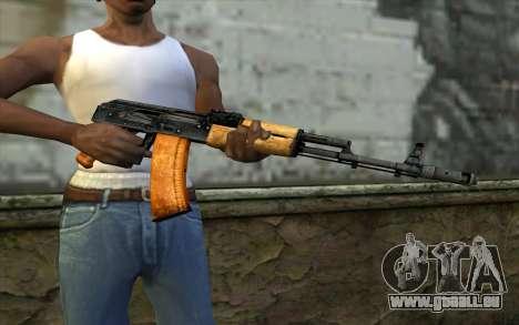 AKC74 Ohne Butt für GTA San Andreas dritten Screenshot