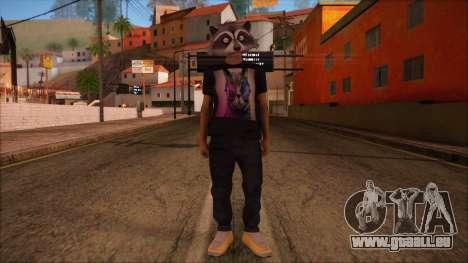 GTA 5 Online Skin 11 pour GTA San Andreas