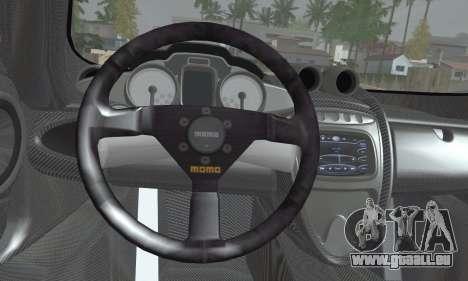 Pagani Huayra TT Ultimate Edition pour GTA San Andreas sur la vue arrière gauche