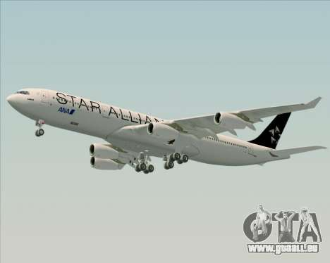 Airbus A340-300 All Nippon Airways (ANA) pour GTA San Andreas vue intérieure