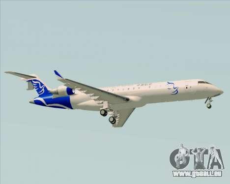 Embraer CRJ-700 China Express Airlines (CEA) für GTA San Andreas rechten Ansicht