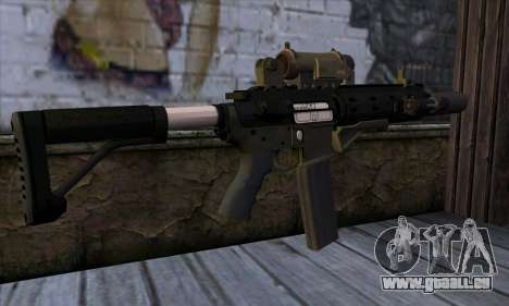 Carbine Rifle from GTA 5 v1 für GTA San Andreas zweiten Screenshot