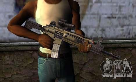 LR300 v2 pour GTA San Andreas troisième écran