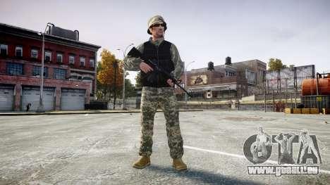 Medal of Honor LTD Camo1 pour GTA 4