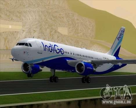 Airbus A320-200 IndiGo pour GTA San Andreas