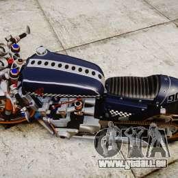 Honda CB750 cafe racer für GTA 4 rechte Ansicht