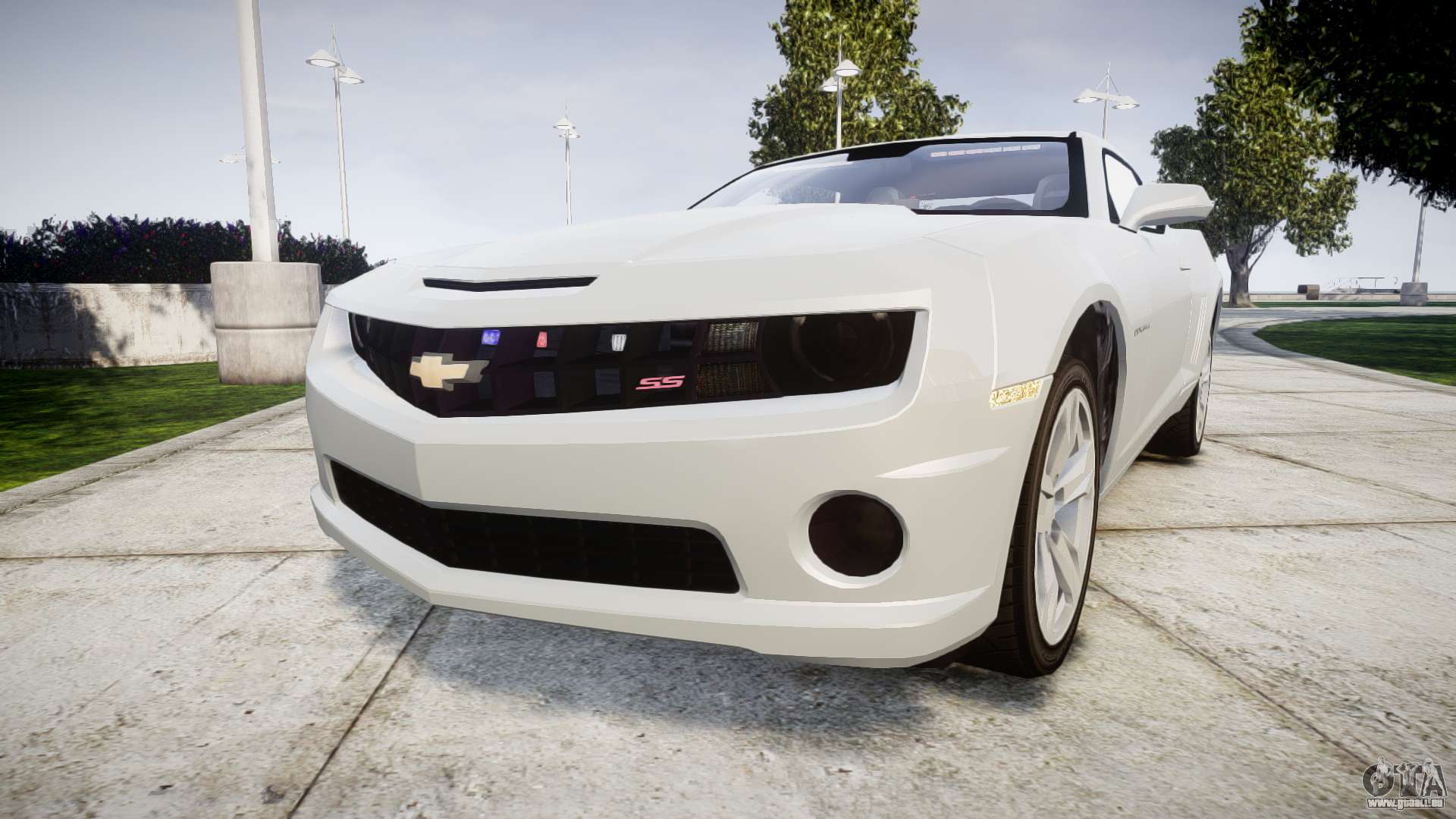 Chevrolet Camaro Ss Els Unmarked No Side Ligh Pour Gta 4