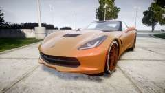Chevrolet Corvette C7 Stingray 2014 v2.0 TireMi4 für GTA 4