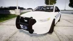 Ford Taurus 2014 [ELS] Liberty County Sheriff für GTA 4