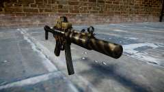 Pistolet MP5SD EOTHS FS c cible