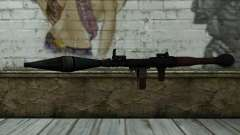 New Rocket Launcher pour GTA San Andreas