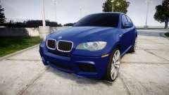 BMW X6M rims1 pour GTA 4