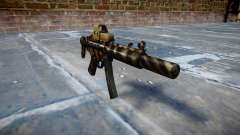 Pistolet MP5SD EOTHS CS c cible