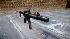 Pistolet MP5SD DRS FS b cible