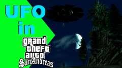 UFO über San Andreas