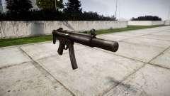 Allemand pistolet mitrailleur HK MP5SD3
