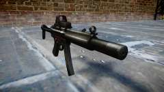 Pistolet MP5SD EOTHS FS b cible