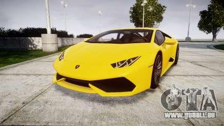 Lamborghini Huracan LP610-4 pour GTA 4