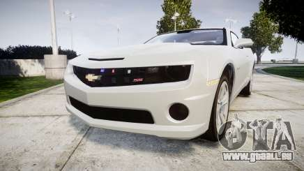 Chevrolet Camaro SS [ELS] Unmarked no side ligh für GTA 4