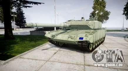 Leopard 2A7 EU Green pour GTA 4