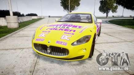 Maserati GranTurismo S 2010 PJ 3 pour GTA 4