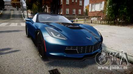 Chevrolet Corvette Z06 2015 TireBr3 pour GTA 4