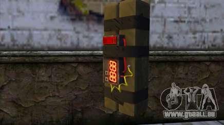 Stick Bomb from GTA 5 für GTA San Andreas