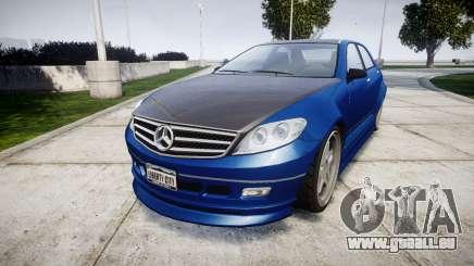 Benefactor Schafter Mercedes-Benz pour GTA 4