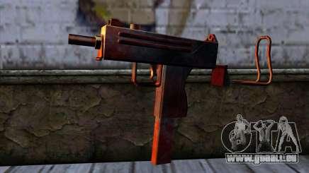 Micro Uzi v2 Rouille sanglante pour GTA San Andreas