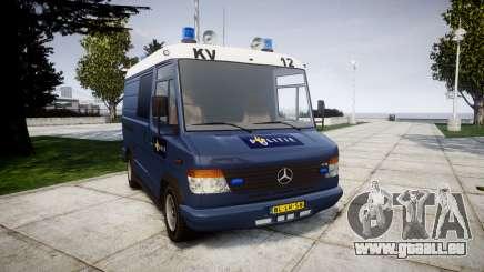 Mercedes-Benz Vario 614D SWAT [ELS] für GTA 4