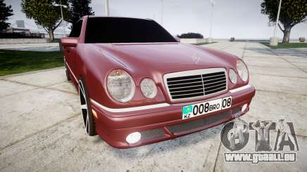 Mercedes-Benz W210 E55 2000 AMG Vossen VVS CV3 für GTA 4