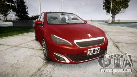 Peugeot 308 2015 für GTA 4