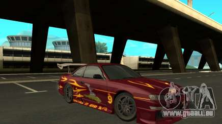 Nissan 200SX FnF1 (Letty car) für GTA San Andreas