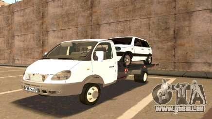 Gazelle de Remorquage 33023 Bêta v1.2 pour GTA San Andreas