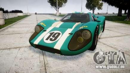 Ford GT40 Mark IV 1967 PJ Schila Racing 19 für GTA 4