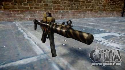 Gun MP5SD EOTHS FS c-Ziel für GTA 4