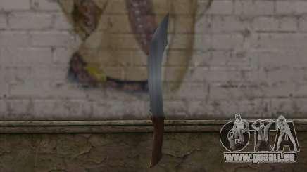 Pierre couteau pour GTA San Andreas
