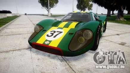 Ford GT40 Mark IV 1967 PJ 37 pour GTA 4