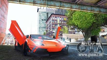 Lamborghini Aventador TZR R-Tech für GTA 4