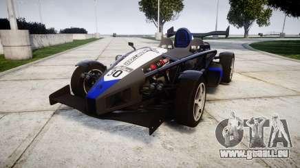 Ariel Atom V8 2010 [RIV] v1.1 Sheriftizer pour GTA 4