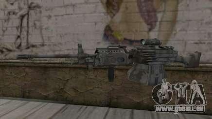 Minigun MK48 pour GTA San Andreas