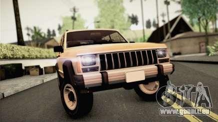 Jeep Cherokee pour GTA San Andreas