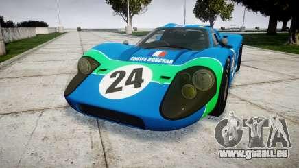 Ford GT40 Mark IV 1967 PJ Equipe Bouchard 24 für GTA 4