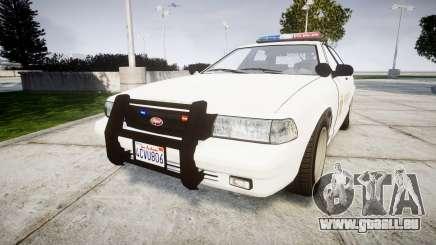 GTA V Vapid Police Cruiser Rotor [ELS] für GTA 4