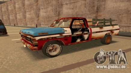Ford PickUp Rusted für GTA San Andreas