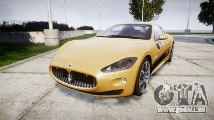 Maserati GranTurismo S 2010 PJ 1 pour GTA 4