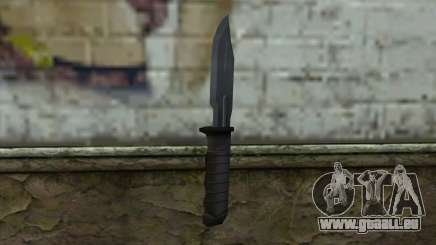 Retextured Knife für GTA San Andreas