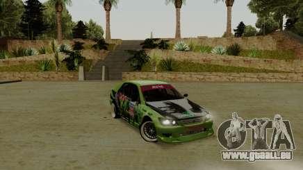 Toyota Altezza Toy Sport pour GTA San Andreas